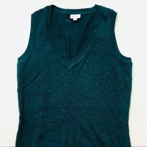 NEW Teal Sleeveless Sweater